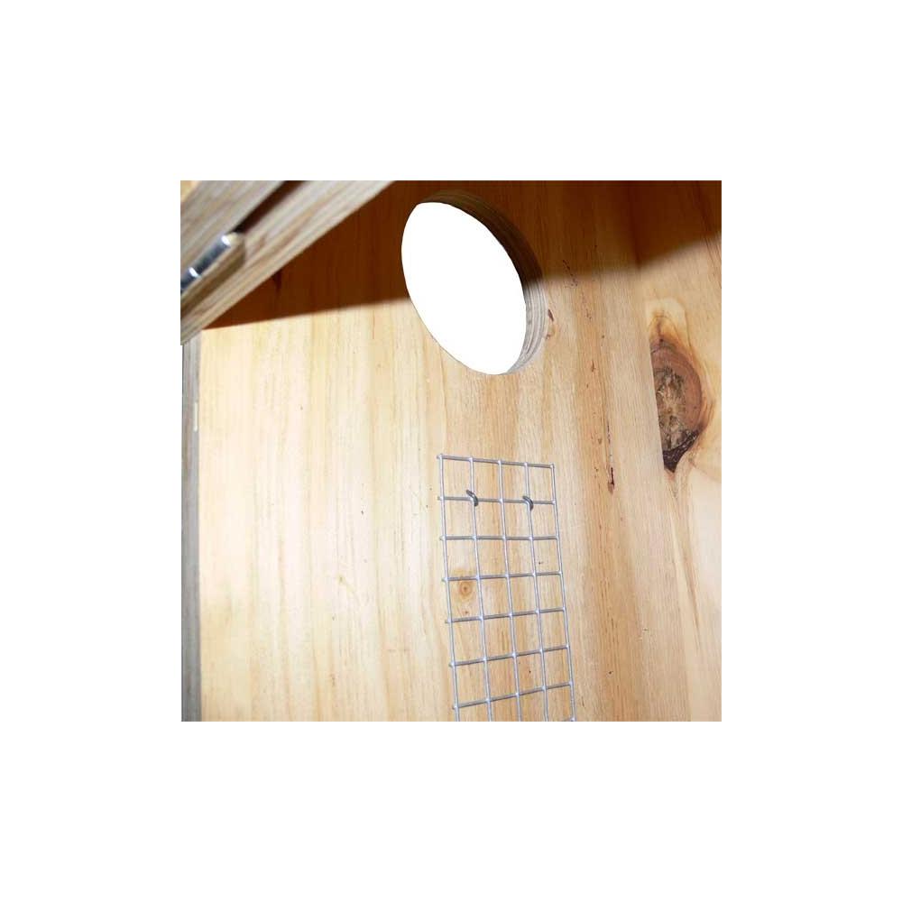 Nid perroquet en bois brut qualitybird boutique en ligne oiseaux - Amazone magasin en ligne ...