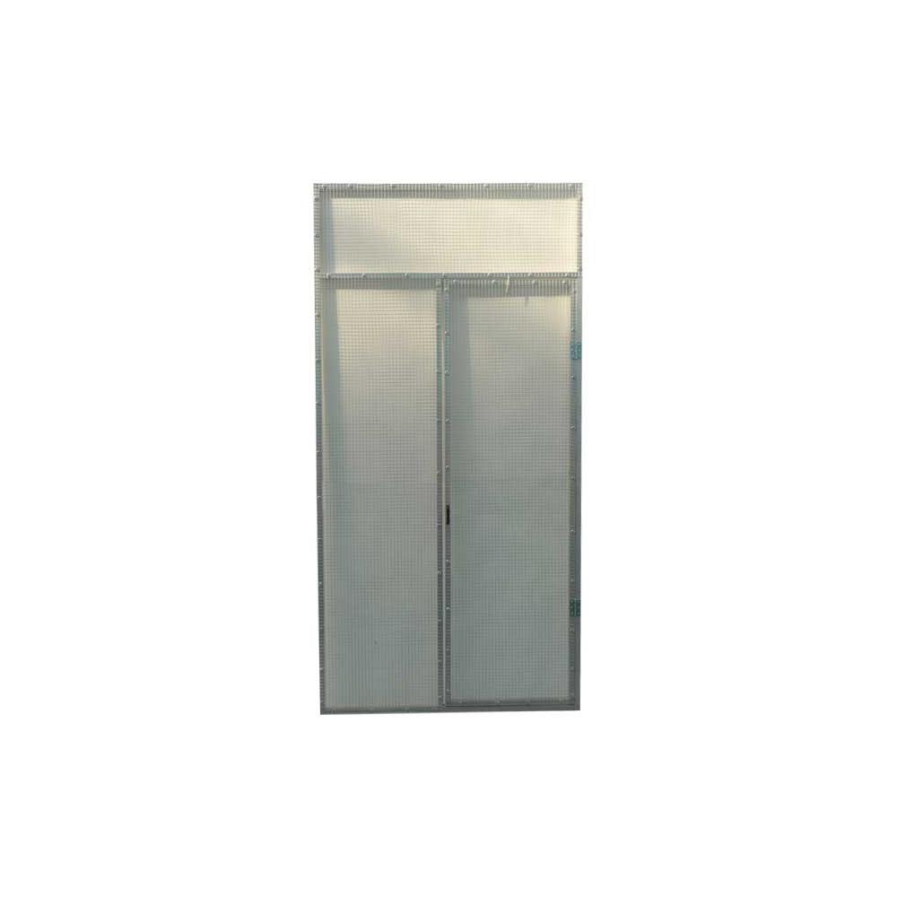 panneau porte pour voli re en aluminium 2m x 1m en maille 13x13. Black Bedroom Furniture Sets. Home Design Ideas