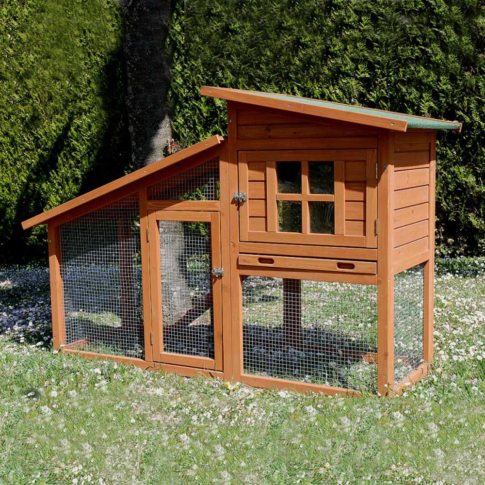 poulailler colorado pour 1 2 poules traditionnelles. Black Bedroom Furniture Sets. Home Design Ideas