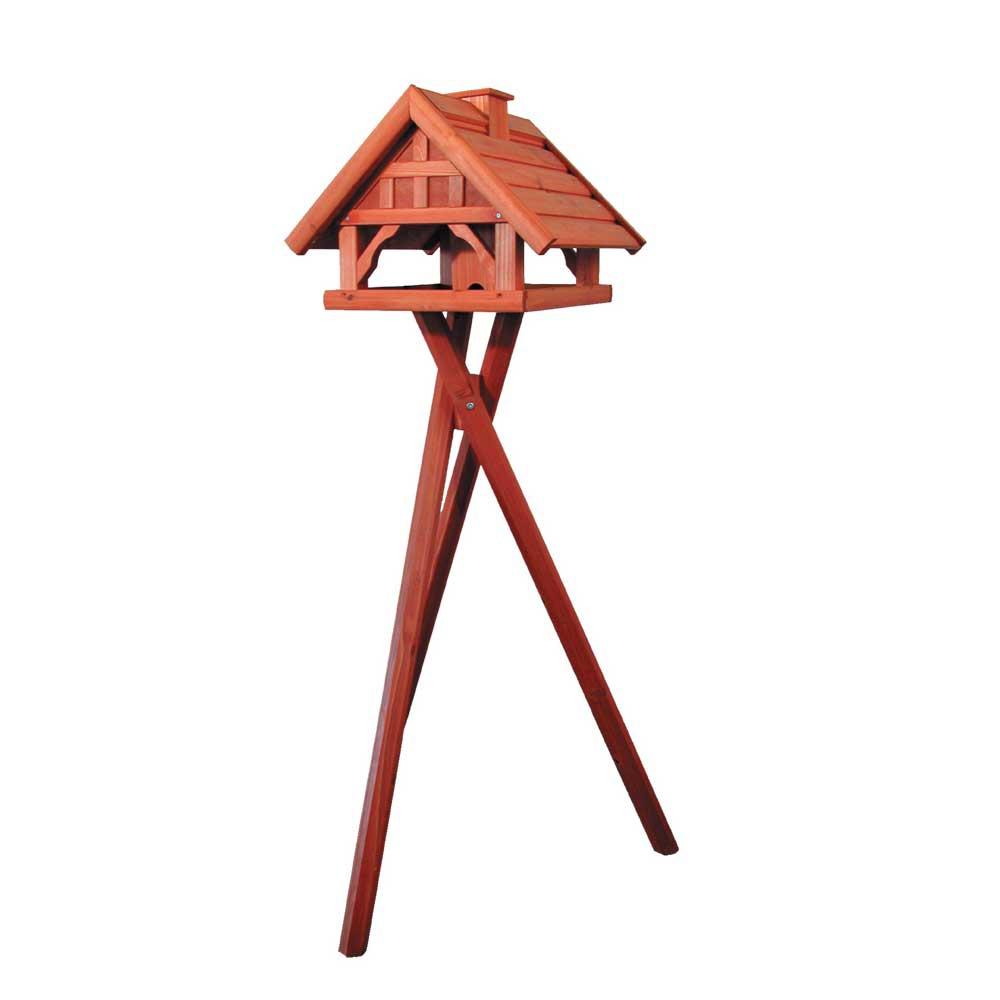 Mangeoire sur pied oiseaux du jardin mont blanc for Mangeoire sur pied pour oiseaux du jardin