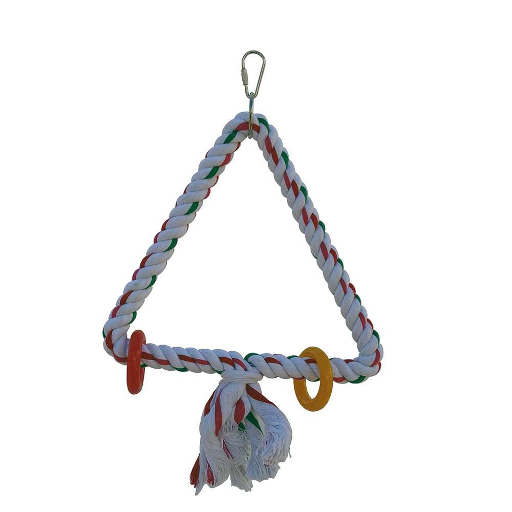 jouet perruche et perroquet triangle supr me jouet en ligne pour oiseaux. Black Bedroom Furniture Sets. Home Design Ideas