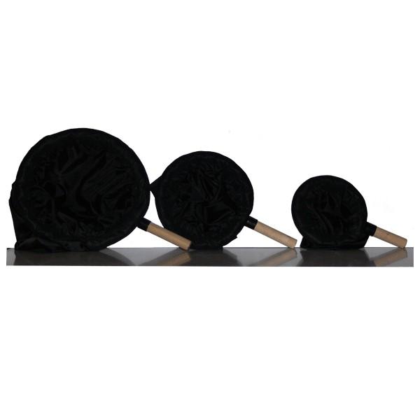 Epuisette noire - 3 tailles