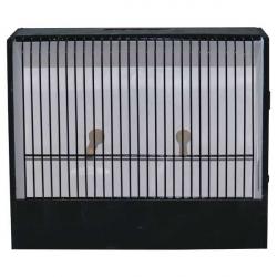 Porte cage concours oiseaux exotiques