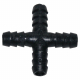 Raccord en croix Ø 10