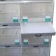 Batterie d'élevage 8 box - tiroir