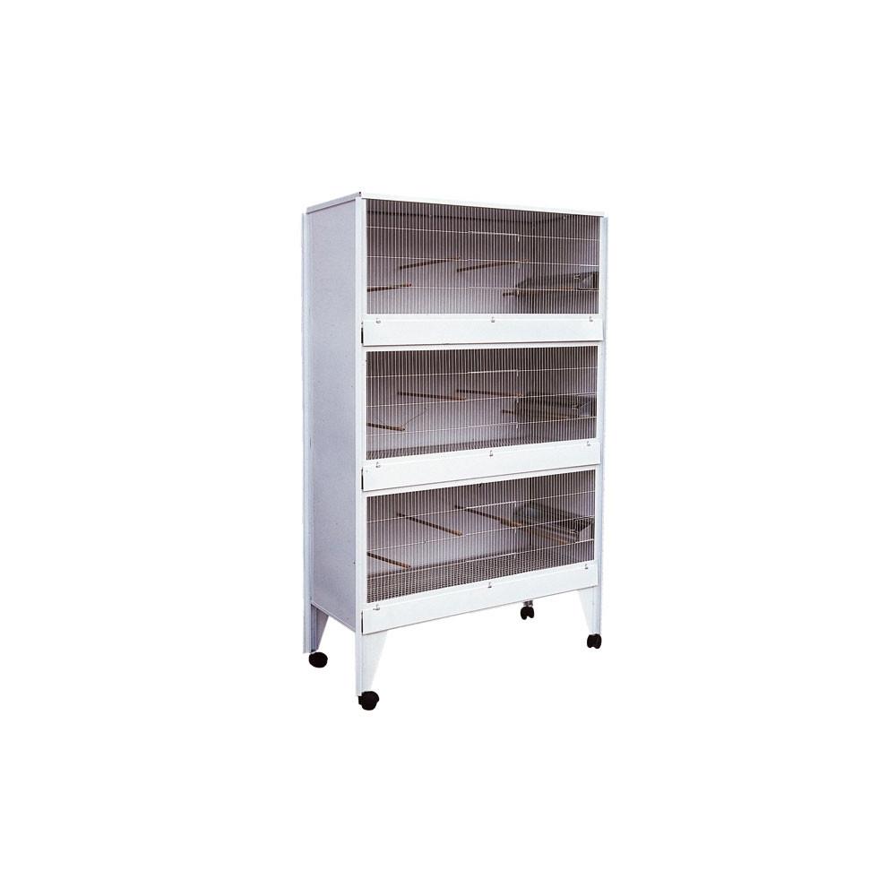 cage d 39 levage 3 box pour perruches canaris et oiseaux. Black Bedroom Furniture Sets. Home Design Ideas