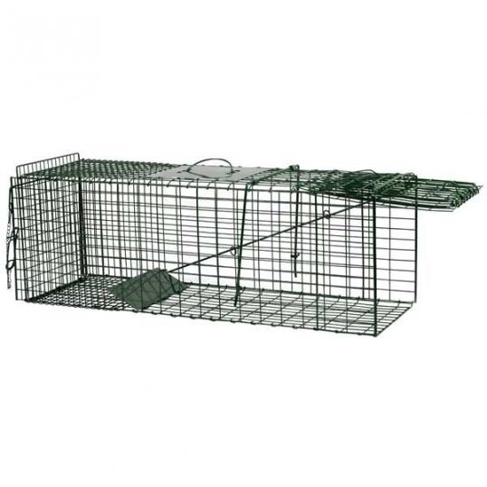 Piège à chat et ragondins ouvert