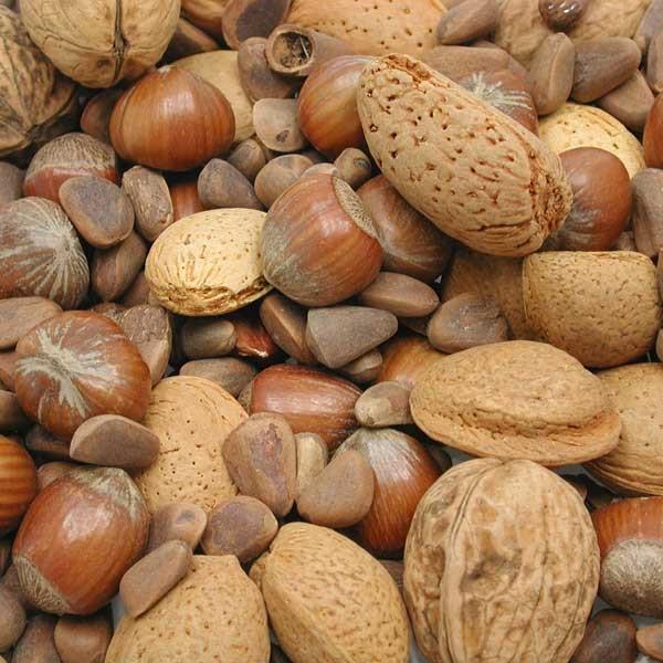 Mélange de noix
