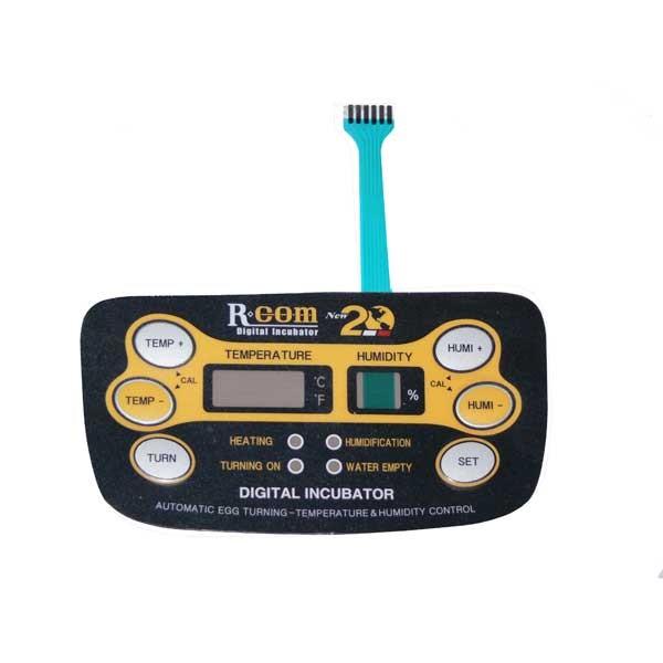 Panneau de contrôle autocollant Rcom20