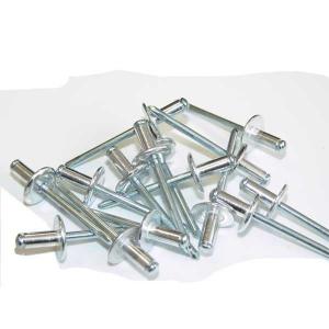 Rivets aluminium tête large