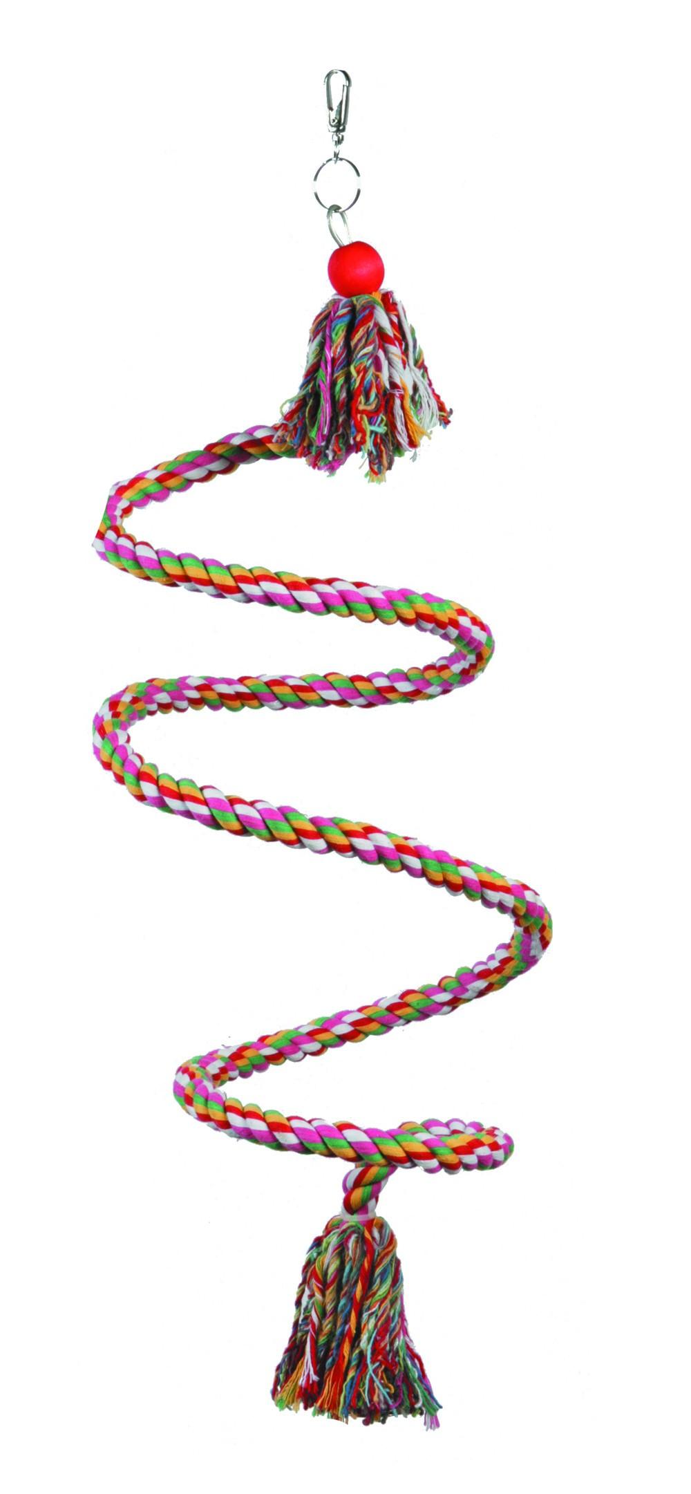 Perchoir Spirale couleurs avec cloche