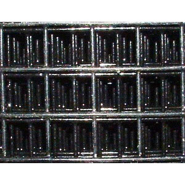 Grillage 13 x 13 PVC plastifié noir