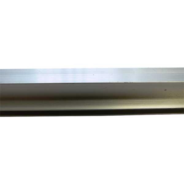 Tubes carrés aluminium rainurés 2 m
