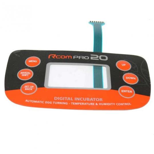 Panneau de contrôle autocollant Rcom20 Pro et USB
