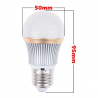 Ampoule Led Dimmable - 9 W dimensions