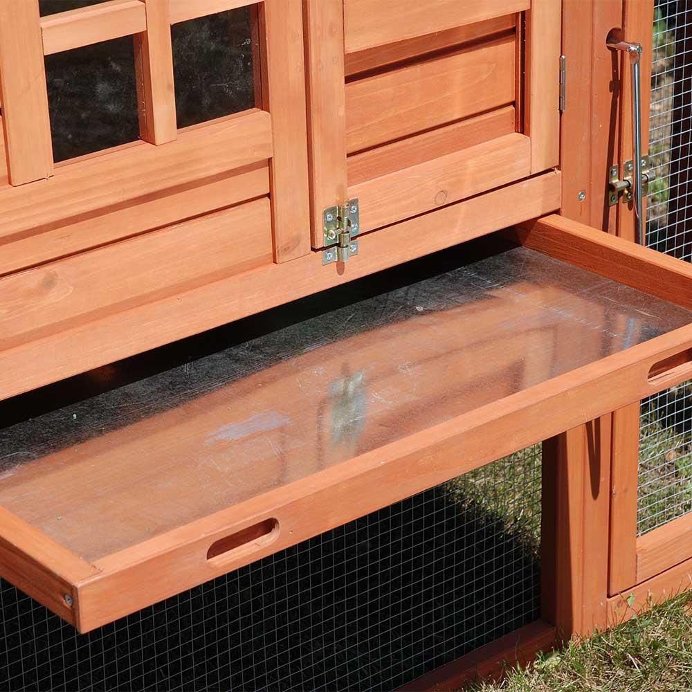 poulailler louisiane pour 2 3 poules avec enclois et pondoir. Black Bedroom Furniture Sets. Home Design Ideas