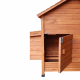 Maison des poules - porte d'accès