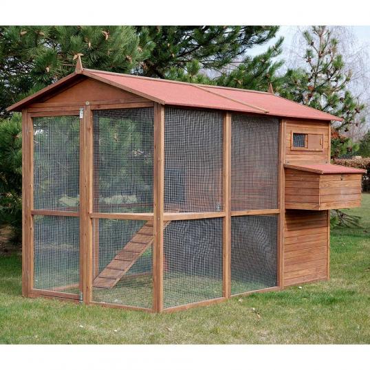Poulailler Large Square pour 10-12 poules