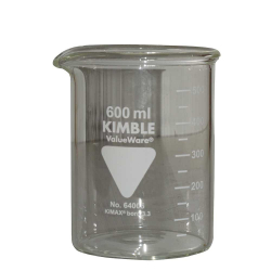 Bécher Kimble gradué 600 ml