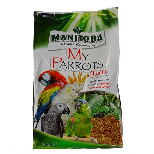 My Parrots Unico extrudés