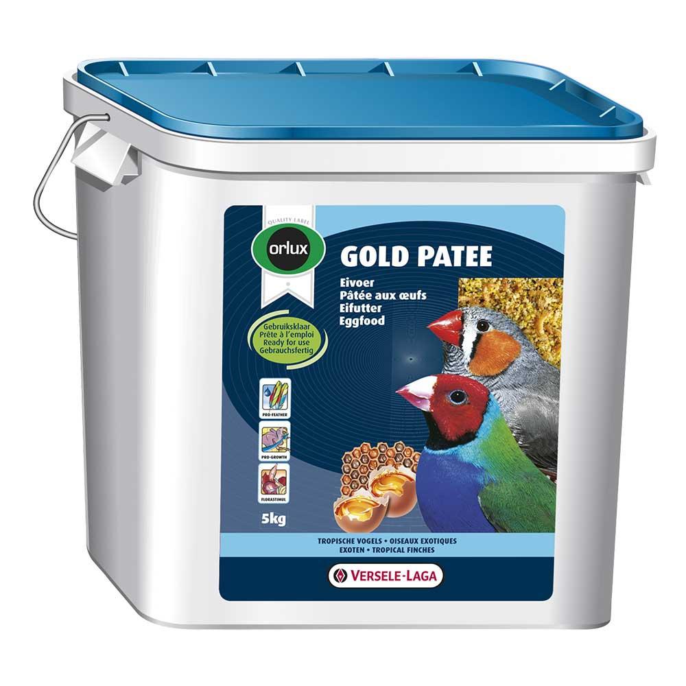 Orlux Gold Pâtée aux Oeufs Oiseaux Exotiques - Seau de 5kg