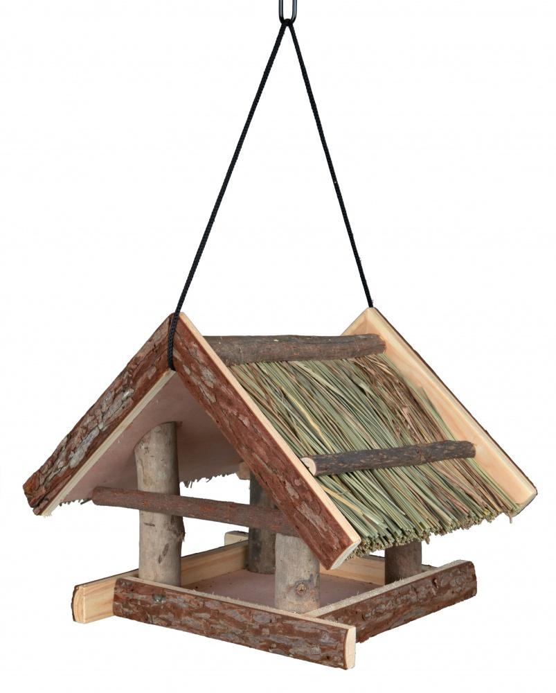 Mangeoire maisonnette oiseau, suspendue