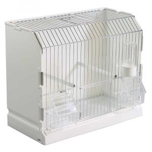 Cage expo 3 portes galvanisée