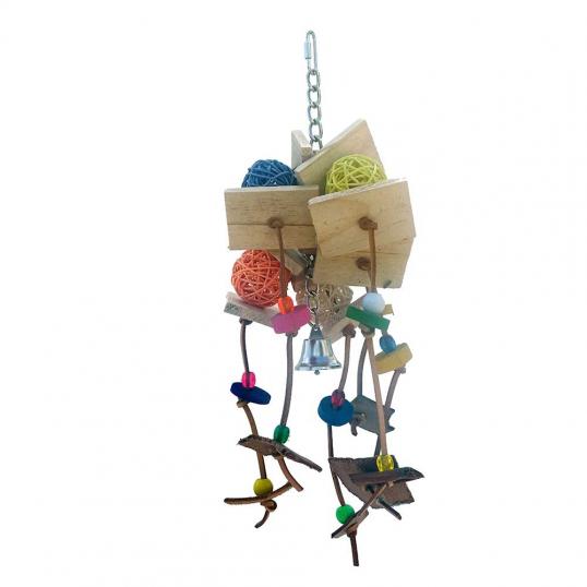 Jouet Affriolant perruche et perroquet
