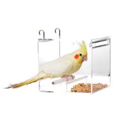 Mangeoire economique pour perruches