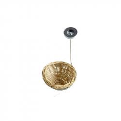 Porte nid en métal aimanté