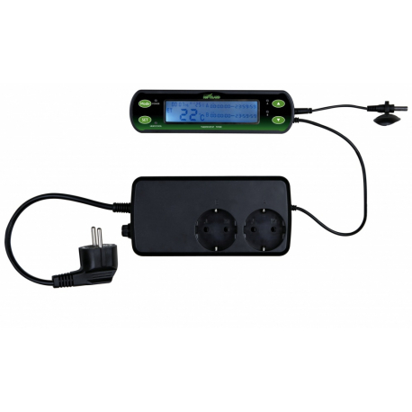 Thermostat digital double circuits