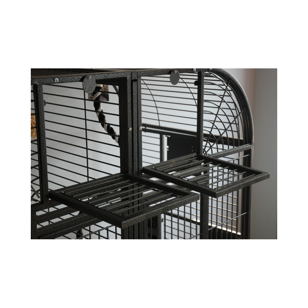 grande voliere cage perroquet pour gris du gabon grande. Black Bedroom Furniture Sets. Home Design Ideas