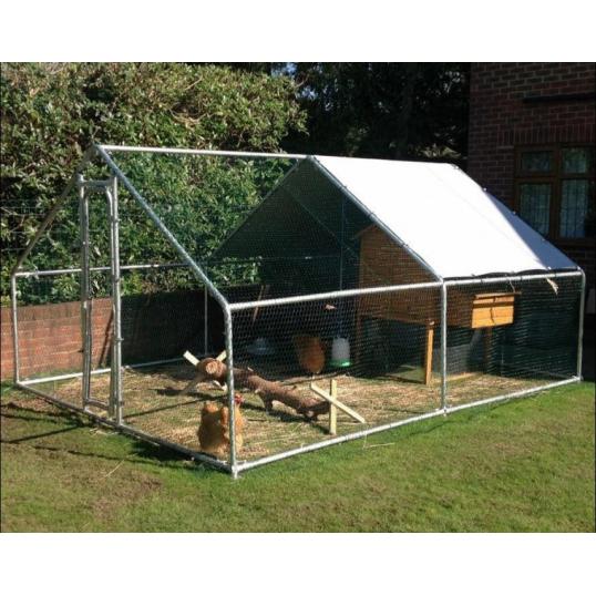 Parc enclos pour poules et autres volailles 12m²