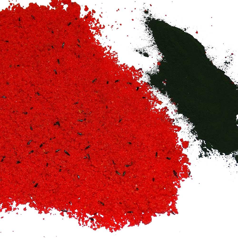 QualityBird pâtée rouge grasse avec Spiruline