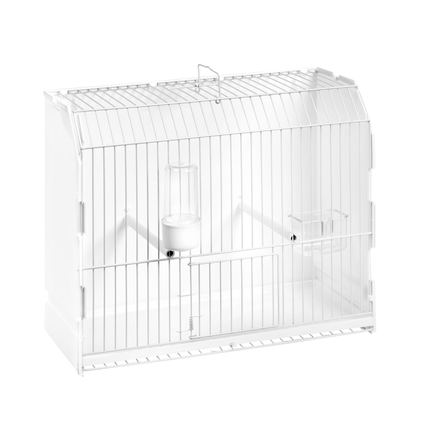 Cage exposition blanche