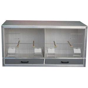 Batterie élevage 2 box