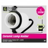 Support céramique orientable lampe UV