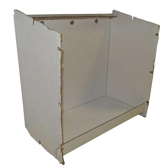 Carton de rechange cage d'exposition