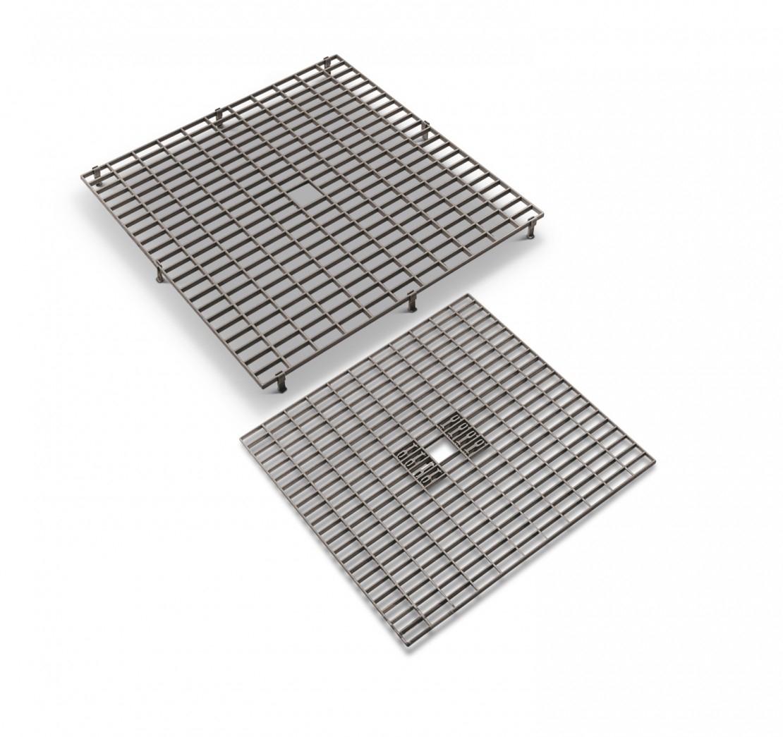 Caillebotis en plastique - grille de fond