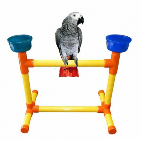 Perchoir de table PVC moyen perroquet Zoo-Max