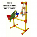 Aire de jeux PVC de Table moyen perroquet Zoo-Max
