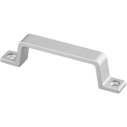 Poignée aluminium pour porte de volière