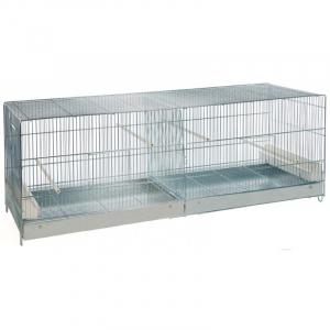 Cage élevage Cova 120 tiroir métal mangeoires intérieures
