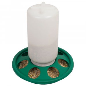 Mangeoire à trous pour poussins et cailles 1 kg