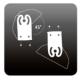 Double Stand d'éclairage d'UV Compact Arcadia