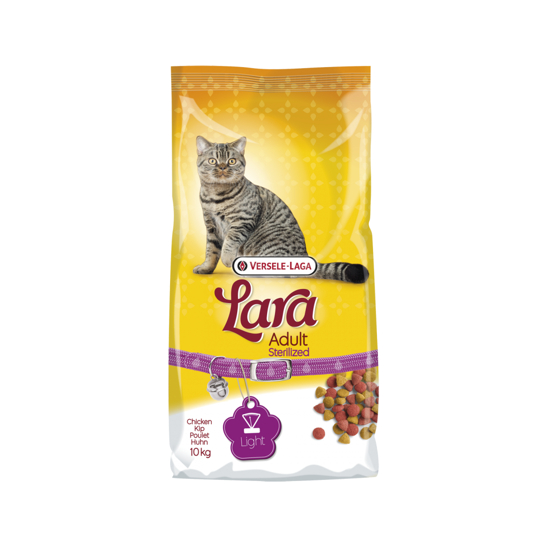 Lara Croquette chat Adult Sterilized - Chat stérilisé 10kg