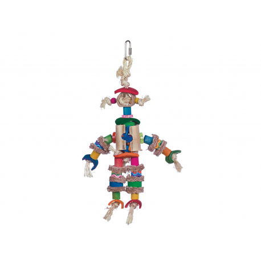 L'Epouvantail - Jouet perruche et petit perroquet