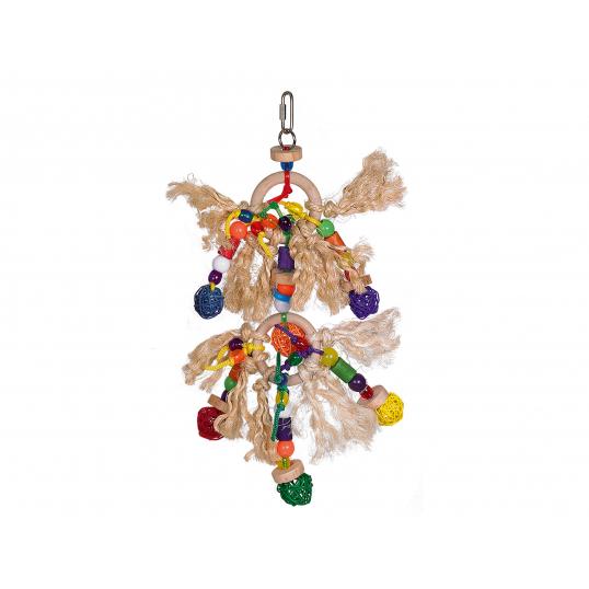 Fire Rings - Jouet perruche et petit perroquet