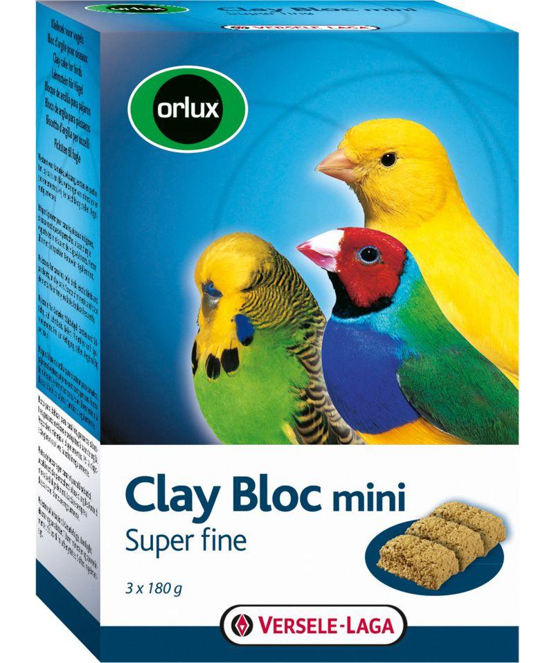 Bloc d'argile pour petits oiseaux - Clay Bloc mini