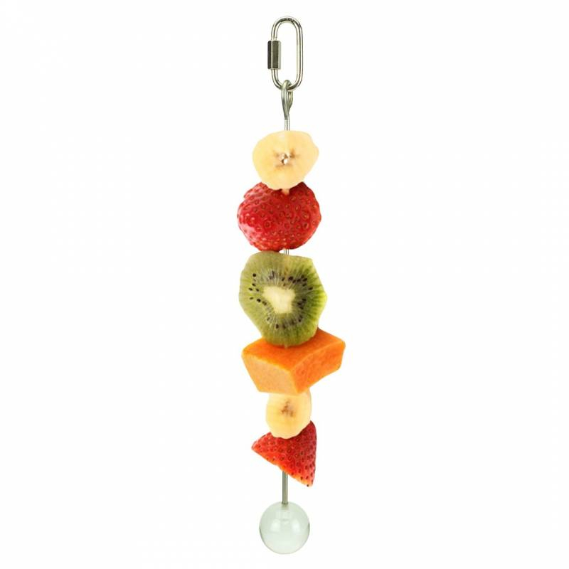 Brochette à fruits en inox